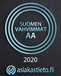 Suomen Vahvimmat AA luottoluokitus